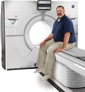 Her ser du den nye CT-scanneren.