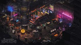 Konseptbilete frå Shadowrun: Hong Kong.