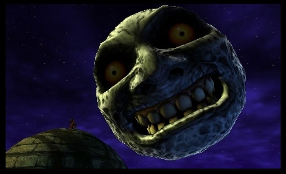 Månen er fortsatt ulidelig skummel (Skjermbilde: Nintendo).