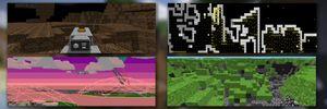 Spillene som Minecraft bygger på