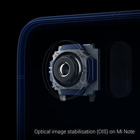Kameraet i Mi Note har optisk bildestabilisering.