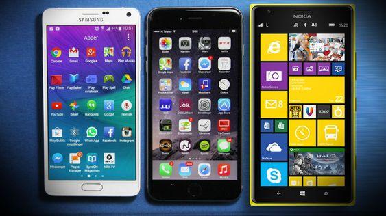 Android, iOS eller Windows Phone? Det er det store spørsmålet.