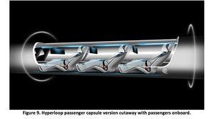 Elon Musks konsepttegning av en kapsel.