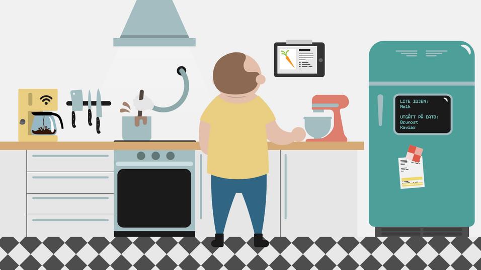 Slik gjør vi kjøkkenet høyteknologisk