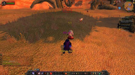 Det er mye gåing og slåssing i World of Warcraft, fant jeg ut.