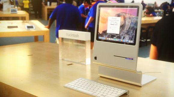 Noen må savne Macintoshen fra 1984