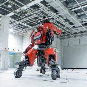 Roboten er fire meter høy.
