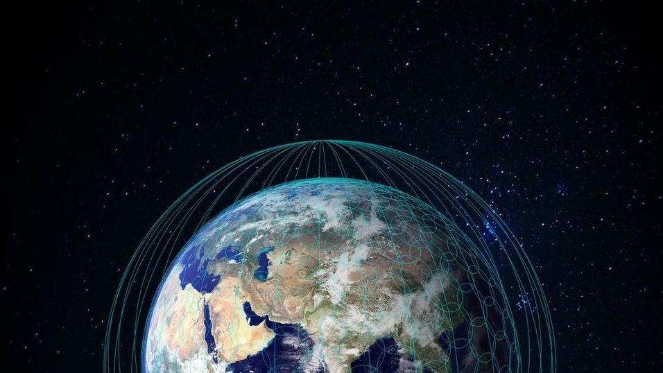 Illustrasjonsbilde av det nye nettverket sett fra rommet.