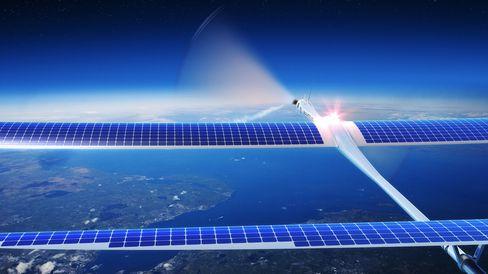 Solcelledrevne dronefly skal gi «internett til alle».