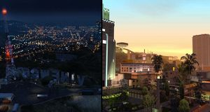 Så liten var San Andreas' verden sammenlignet med Grand Theft Auto V