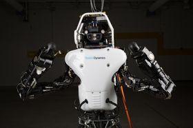Googles superrobot «Atlas» er kanskje det nærmeste man kommer en kyborg i dag.