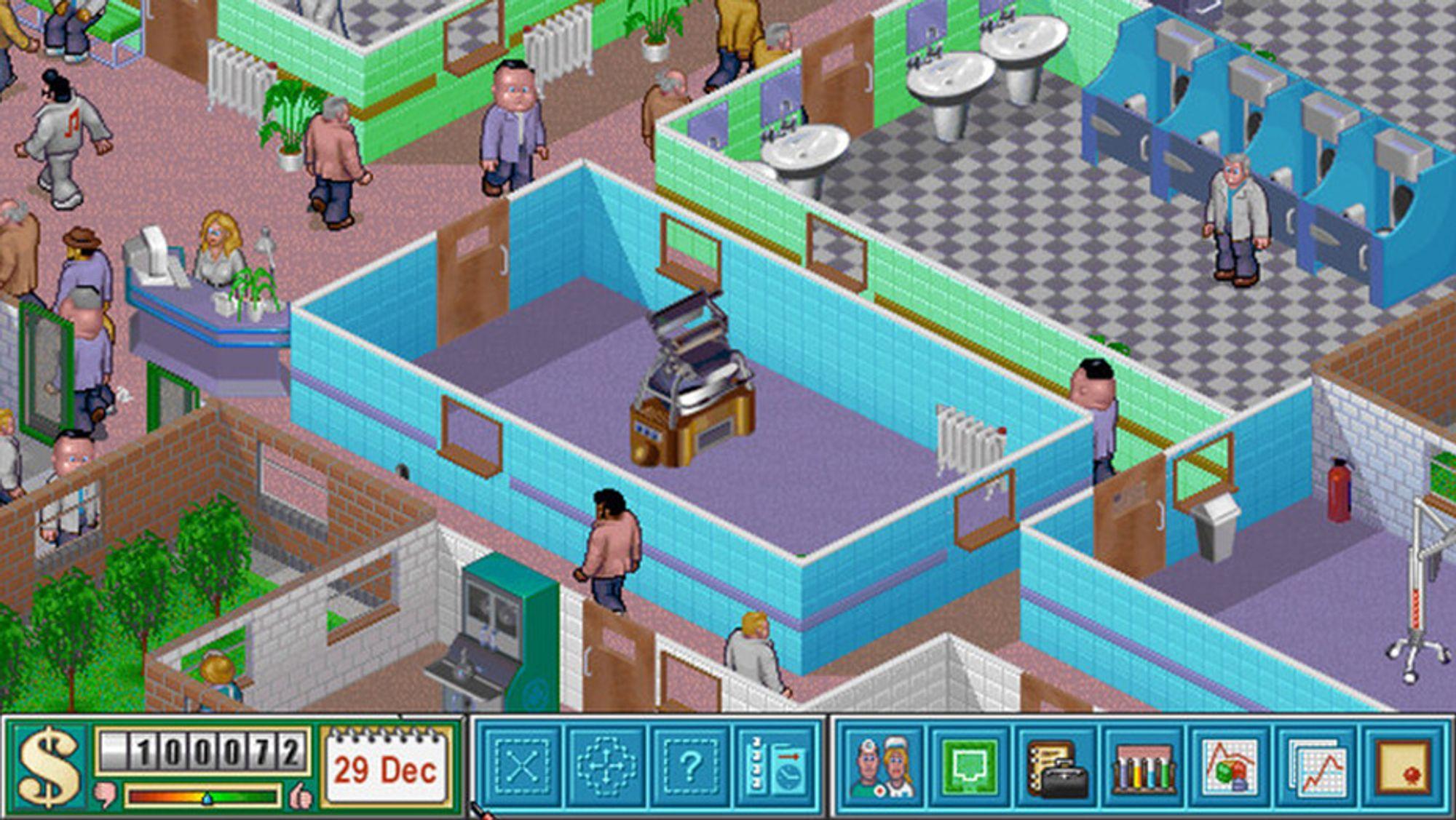 Espen har brukt mange timer i korridorene på Theme Hospital.