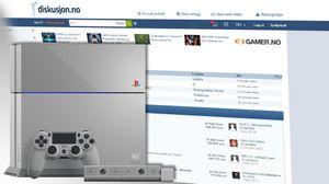 Vinneren får en Sony PlayStation 4 i 20 års-jubileumsutgave.