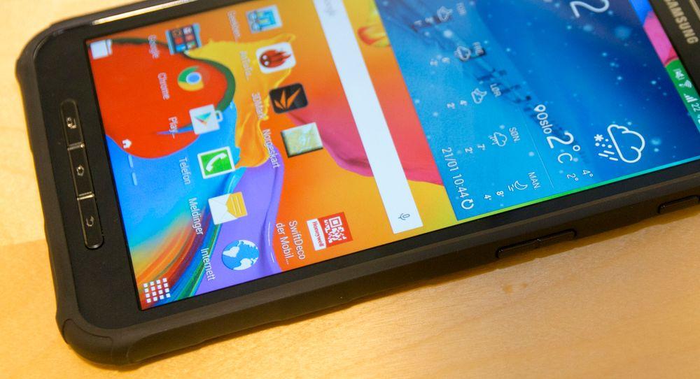 Samsungs Galaxy Tab Active starter på rundt 4000 kroner for WiFi-utgaven. Legg på tusen kroner for 4G. Det er ikke småpenger for et nettbrett.