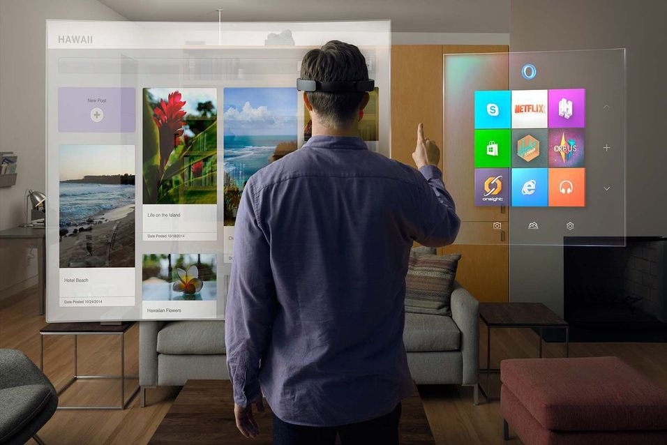 – Jeg fikk prøve HoloLens, og det er helt magisk