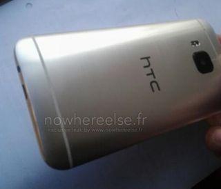 Er dette baksiden av HTC One M9?