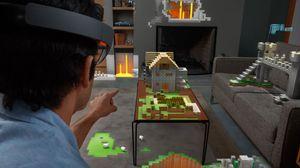 Dette er omtrent det du hadde sett hvis du tok på deg Microsofts HoloLens-briller.