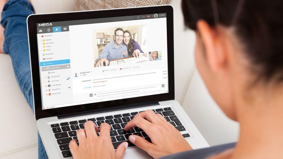 Kim Dotcom med avlyttingssikker Skype-konkurrent