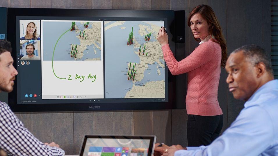 Microsoft Surface Hub.