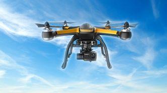 Denne dronen kommer med innebygget fallskjerm