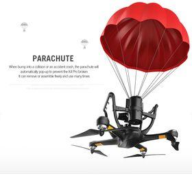 Fallskjermen kan brukes flere ganger.