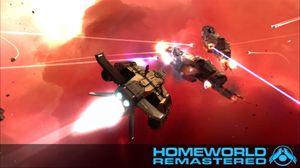 Den rene og klare presentasjonen var et av elementene der Homeworld-spillene stakk seg ut.
