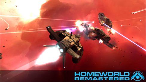 Nyversjonen av Homeworld-spela byr blant anna på betre grafikk.
