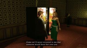 Samtaler blir en stor del av spillet.