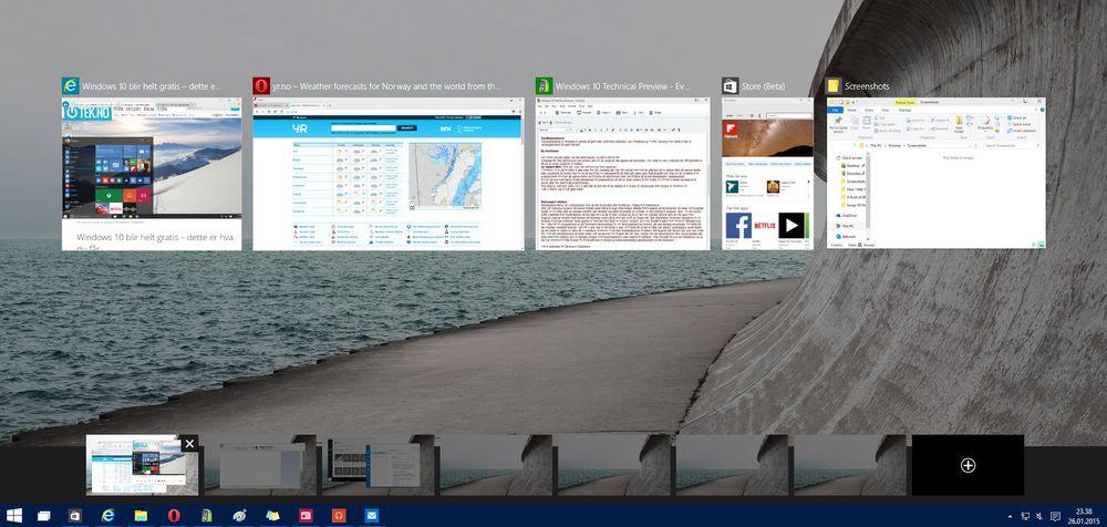 Virtuelle skrivebord kommer endelig, og det vi har sett så langt overbeviser. Vi ser frem til enda ryddigere skrivebord og bedre oversikt fremmover.