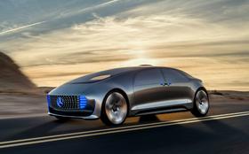 Kanskje blir Mercedes' selvkjørende konseptmodell F-015  blant bilene som skal testes på strekningen.