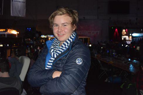 Nikolai «Xiphious» Moods Martinsen.