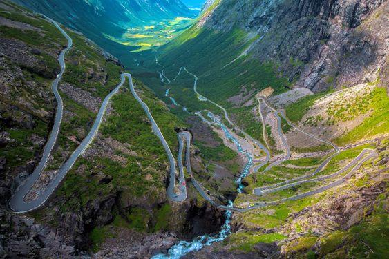 Spektakulære Trollstigen.