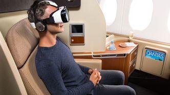 Snart kan du bruke VR-briller som underholdning på fly