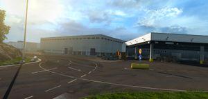 Volvo-fabrikken.