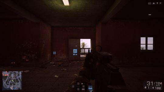 Battlefield 4 i typisk oppløsning: 1920 x 1080 piksler.
