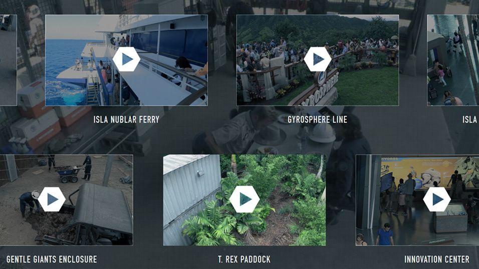Jurassic World har fått seg «webcam»