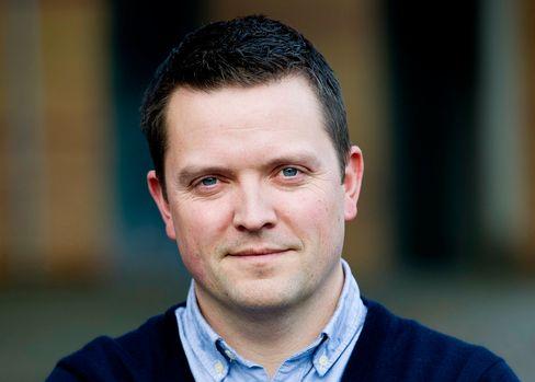 Baard Slaattelid, mobilbanksjef i SpareBank 1-alliansen.