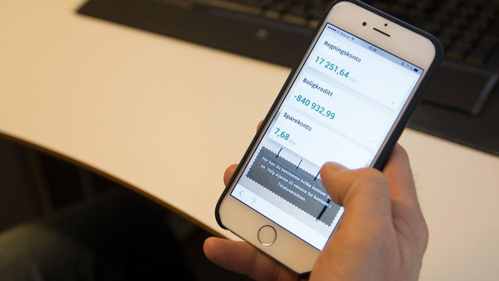 Dette er tallene som viser at nordmenn elsker mobile nettbanker