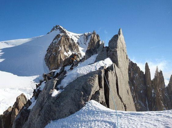FTF på en cache plassert på Mont Blanc. Tolv år etter at den ble lagt ut.