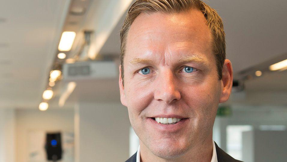 Konsernsjef Johan Dennelind i Teliasonera er fornøyd med utfallet av forhandlingene med Konkurransetilsynet.