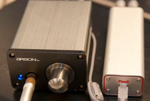 Dette oppsettet ga oss forholdsvis mye hørbar støy i HF-3, selv om lydkvaliteten forøvrig var god.