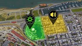 Sensoren kan brukes til å merke av farlige områder på kart.