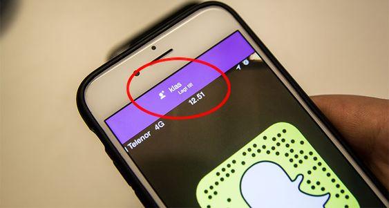 Fokuser kameraet på en venns Snapchat-ikon, og vips er dere Snapchat-venner.