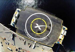 Droneskipet som raketten skal lande på har fått nytt navn siden sist.