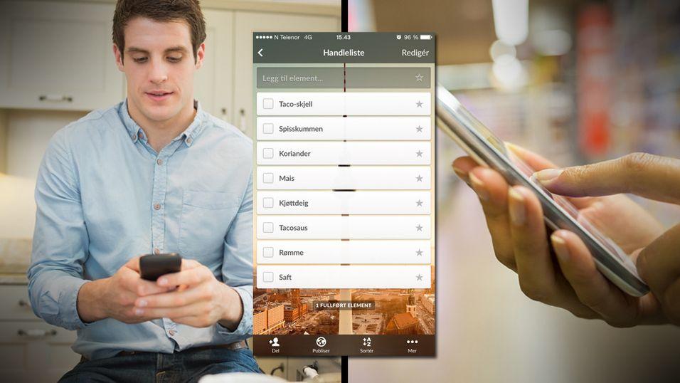GUIDE: Deler du handleliste-app med kjæresten din?