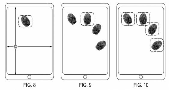 Bilde fra Apples patentsøknad.