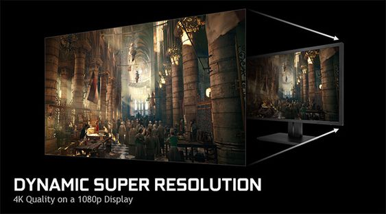 Nvidia Dynamic Super Resolution.
