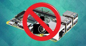 Ikke ta bilde av Raspberry Pi 2!