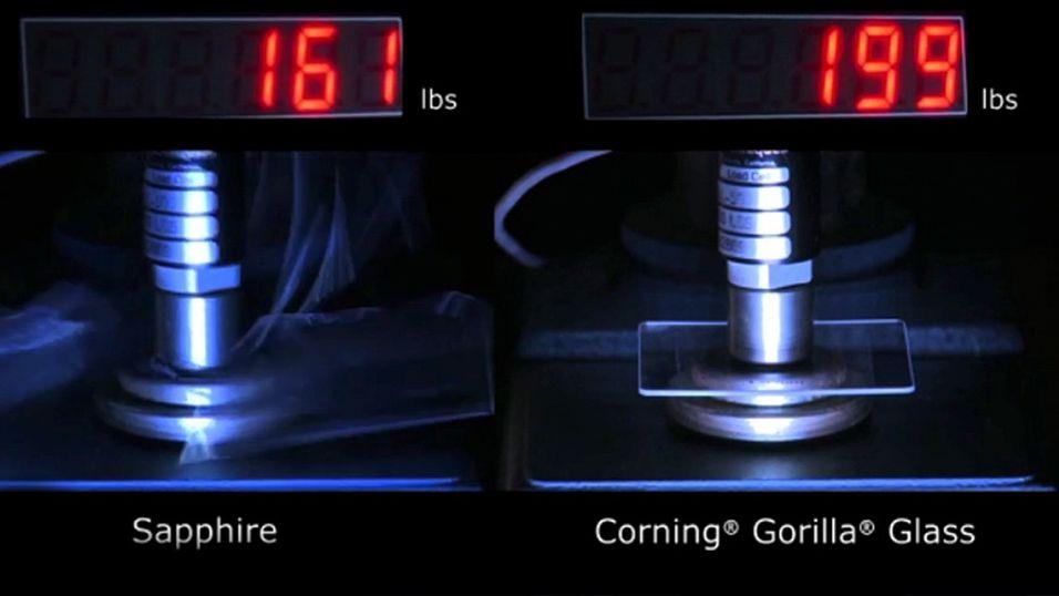 Nye Gorilla Glass skal være langt sterkere enn selv Safirglass.