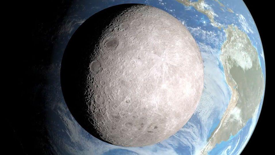 Slik ser det ut på den andre siden av månen